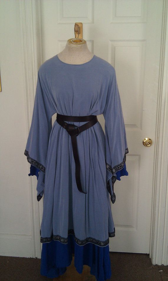 Custom Cotton Overtunic Wide Sleeves SCA by CamelotCreationscom, $40.00