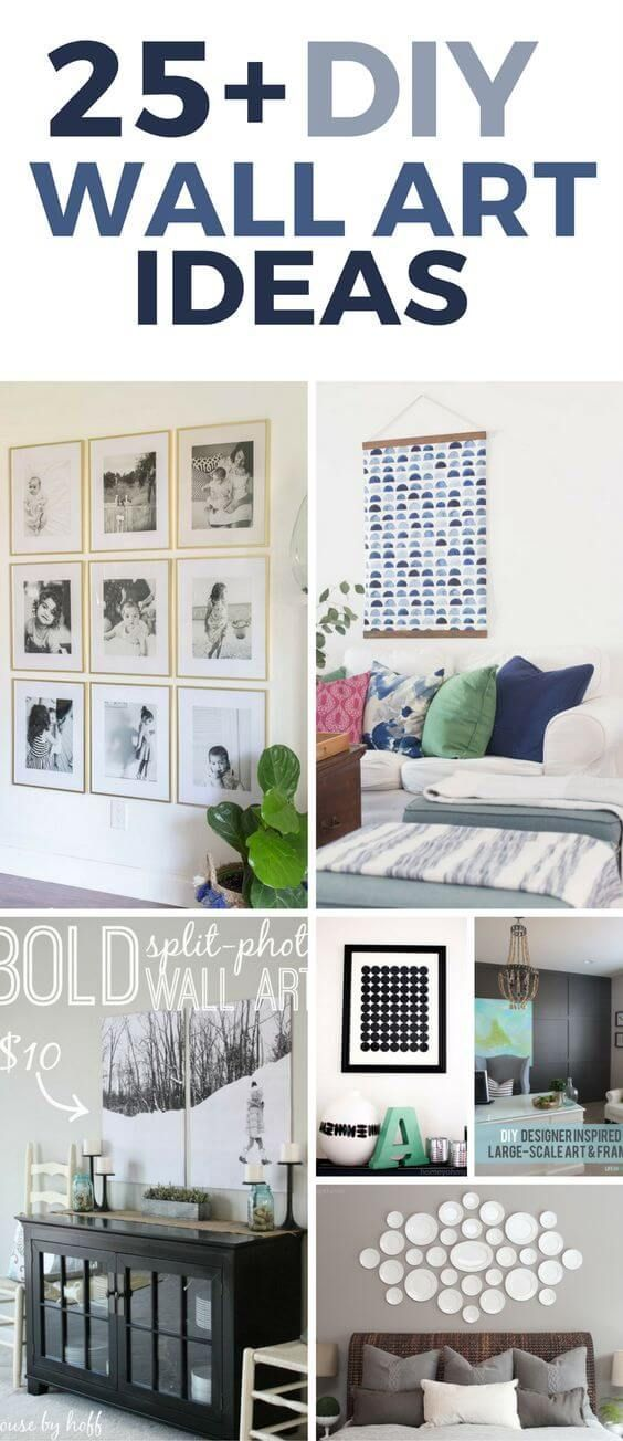 Cool 25 Beautiful And Inspiring DIY Wall Art Ideas That Will Have Your  Creative Wheels Turning