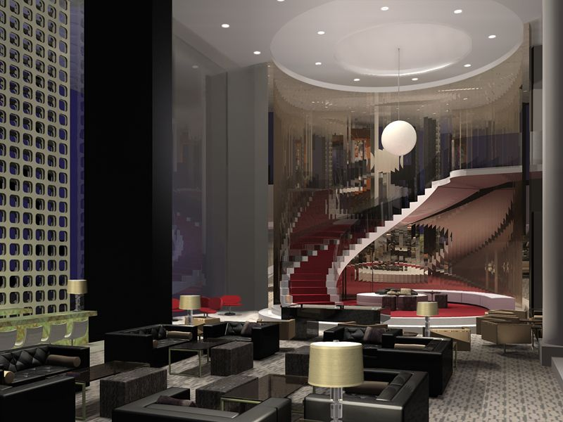 Luxurious New W Hollywood Residences Hollywood hotel