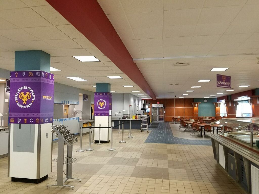 West chester university cafeteria chester university
