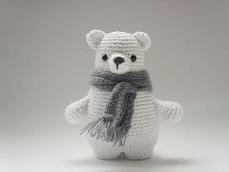 Tutoriales DIY: Cómo hacer un oso de peluche de amigurumi vía ...