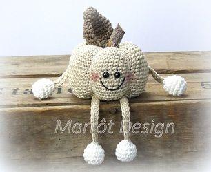 Kết quả hình ảnh cho 1 - Pumpkin Kürby crochet