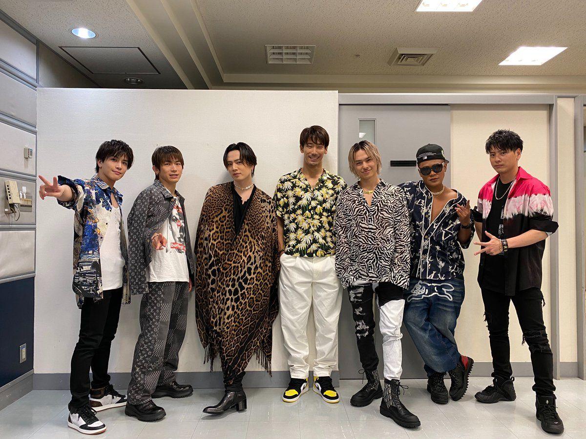 音楽の日2020 On Twitter In 2020 Soul Brothers Kimono Top Soul