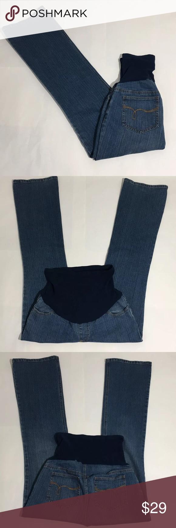 "Motherhood Maternity Bootcut Jeans Full Panel M Motherhood Maternity medium wash bootcut full panel jeans. Size M. 32"" inseam. Motherhood Maternity Jeans Boot Cut"