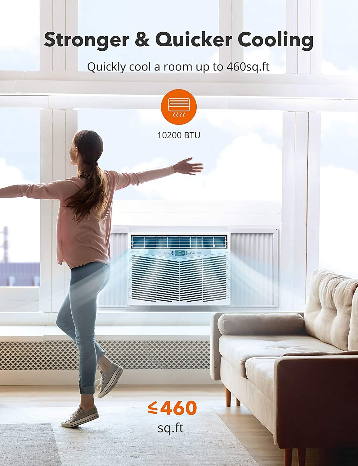 Air Cooler in 2020 Window air conditioner, Fan speed