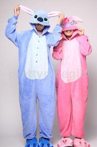 40b46a6d4a4b Kigurumi Stitch Onesie Stitch Pajamas Teen Adult by prettynicegirl ...
