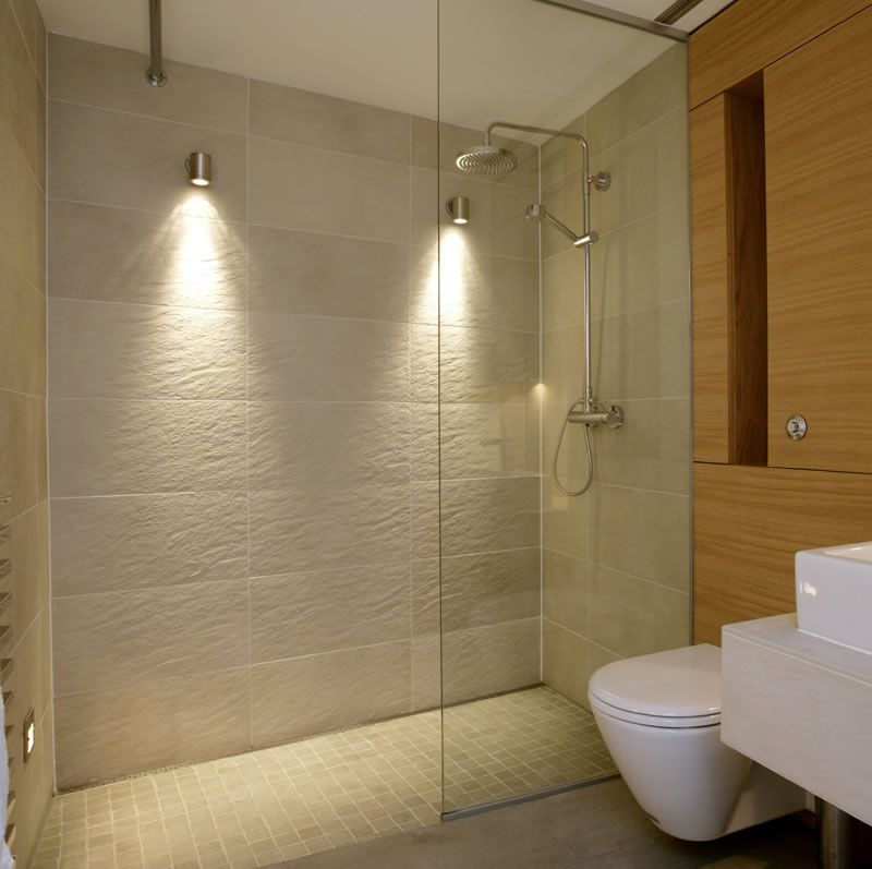 Wall Mounted Shower Lighting