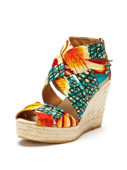 208b8a289ba Mykonos Espadrille Wedge Sandal by Bettye Muller at Gilt | Fashion ...