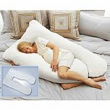 Cozy Comfort Pregnancy Pillow And Coolmax Replacement Cover White Review