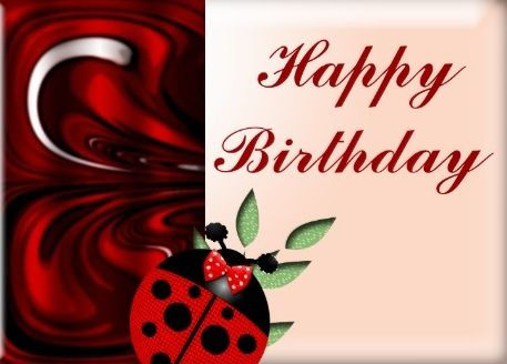 Happy Birthday Lady Images ~ Happy birthday ladybug happy birthday facebook friends
