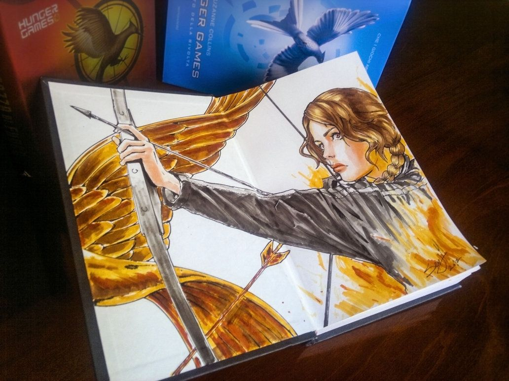 best ideas about hunger games comic anime hunger games book by ~idriu95