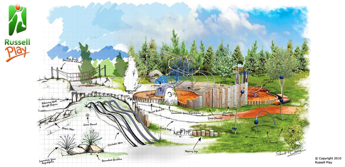 Playground Design Concept images | Playground | Pinterest ...