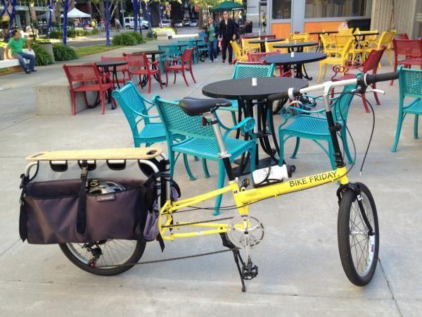 Haul A Day Cargo Bike Bike Friday Bike Cargo Bike