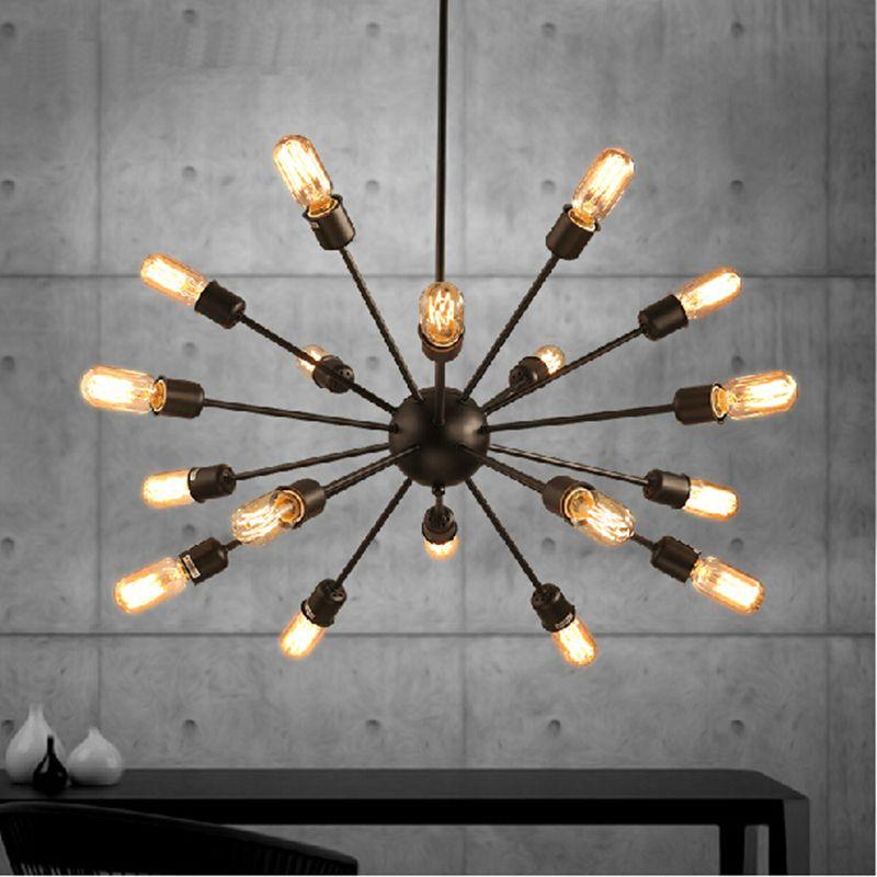vintage lighting fixtures. Mordern Nordic Retro Pendant Light Edison Bulb Lights Fixtures Lustre Industriel Iron Loft Antique DIY E27 Vintage Lighting