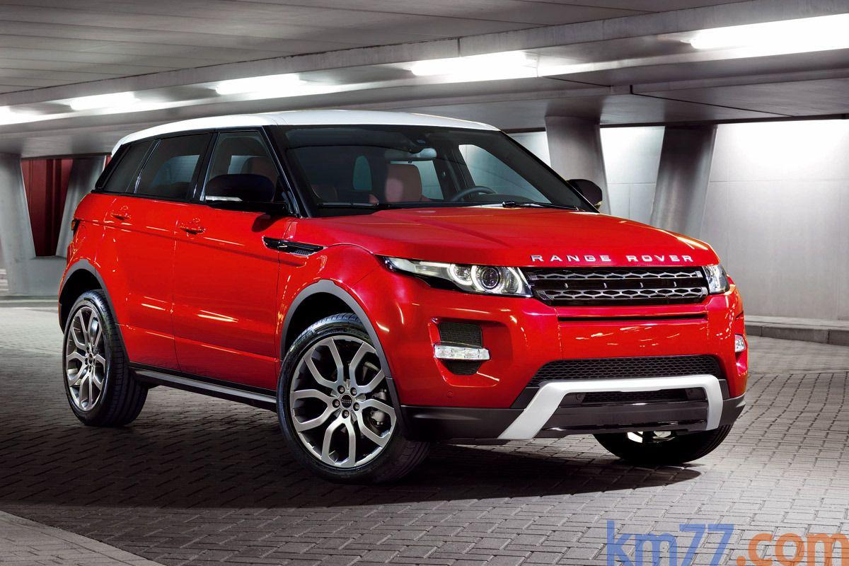 Land Rover Evoque (land rover, small but as strong as