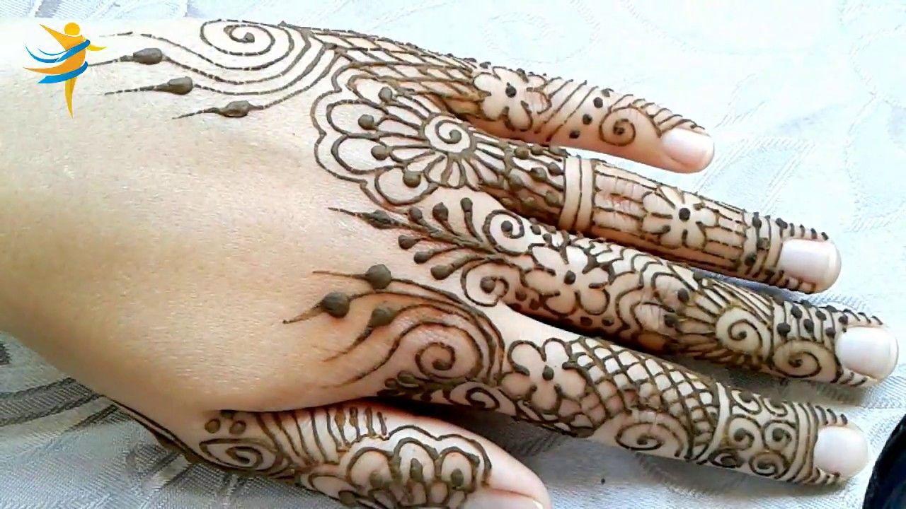 نقش للاصابع جميل ورائع خاص بالعرائس المقبلات على الزواج السلام عليكم و رحمة الله لا تبخلوا علينا بتعليقاتكم و اقتراحا Henna Hand Tattoo Hand Tattoos Hand Henna