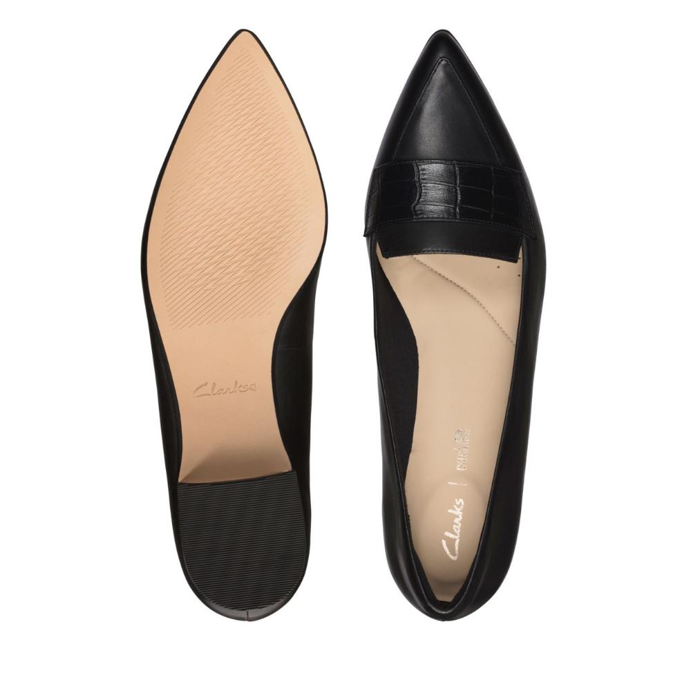 Laina15 Loafer Black Combination Womens Dress Shoes Clarks Shoes Official Site Clarks Dress Shoes Womens Flat Shoes Women Comfort Shoes Women [ 1000 x 1000 Pixel ]