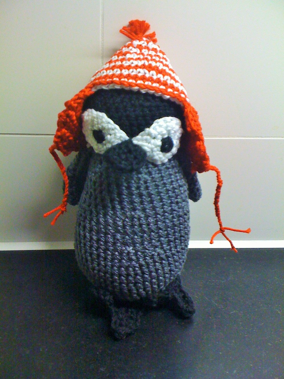 Pinguin; kooppatroon Christel Trukeert