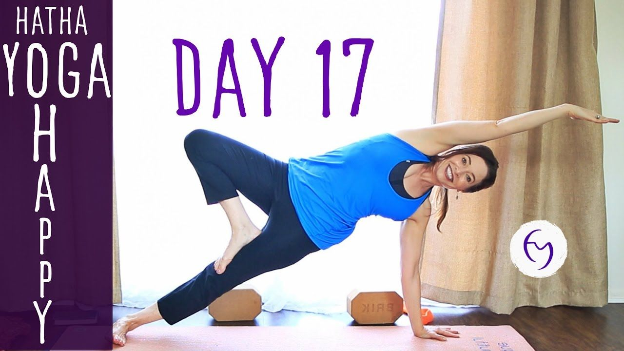 Day 17 Hatha Yoga Happiness: Get Some Fresh Air   Yoga   30