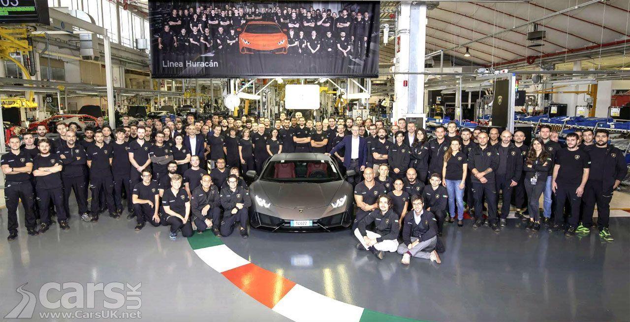 Lamborghini Huracan vestigt opnieuw een Lamborghini-record #lamborghinihuracan Lamborgh ... #lamborghinihuracan