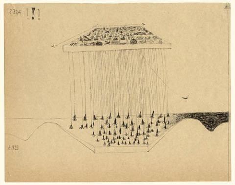 Maria Bussmann - Drawings to Wittgenstein's Tractatus