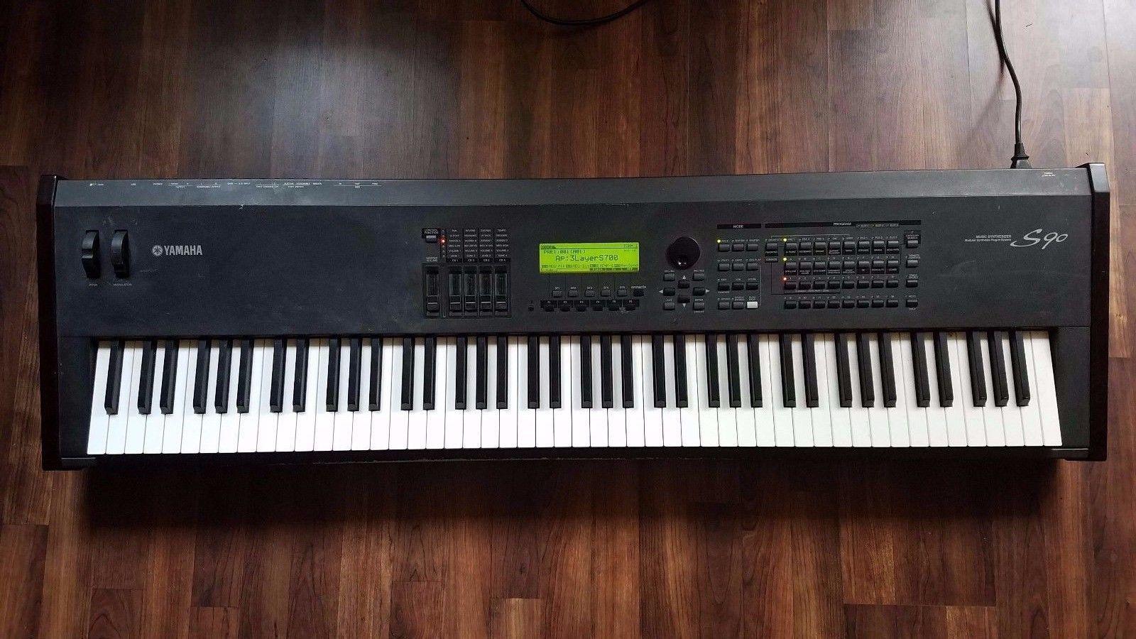 Yamaha S90 (with new keybed) | Yamaha, News, Piano