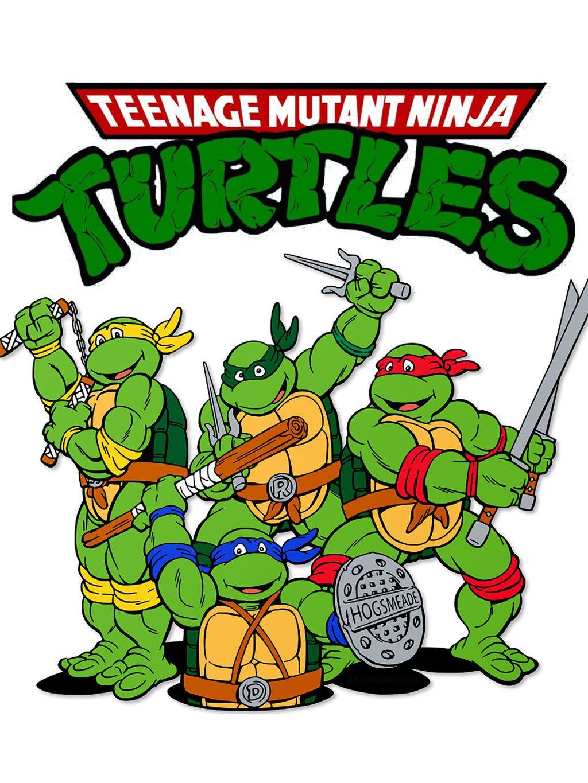 Instant Download Iron On Teenage Mutant Ninja Turtles Fabric