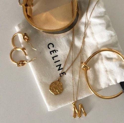 Photo of Schmuck | Schmuck | Schmuck | Celine | Designer | Gold | Golden | Gold | Gold…