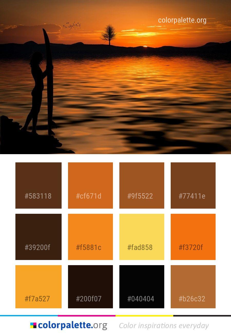 sunset sky sunrise color palette color palettes pinterest rh pinterest com