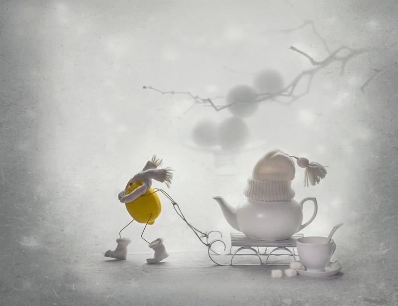 Фотография фотографа - Зимний чай ... с лимоном ...
