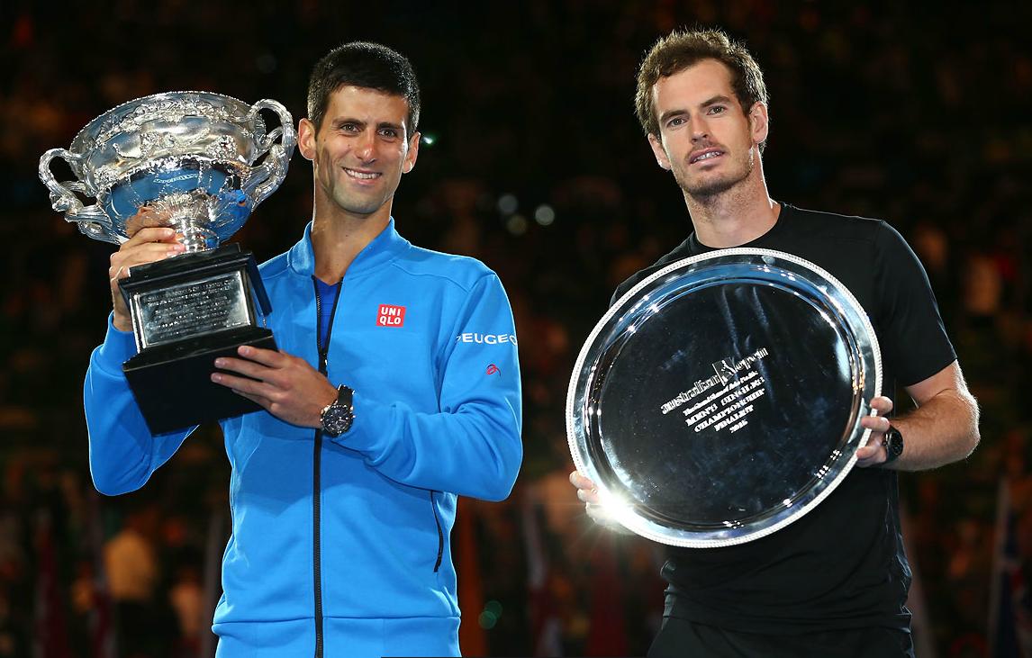 Novak Djokovic vence a Andy Murray 7-6(5),6-7(4),6-3,6-0. En la final del Australian Open, primer Grand Slam del año. Djokovic gana el 49° título de su carrera y 5° en Australian Open, siendo el máximo ganador de esta competencia en la era abierta. Djokovic obtiene su 8° título de Grand Slam.