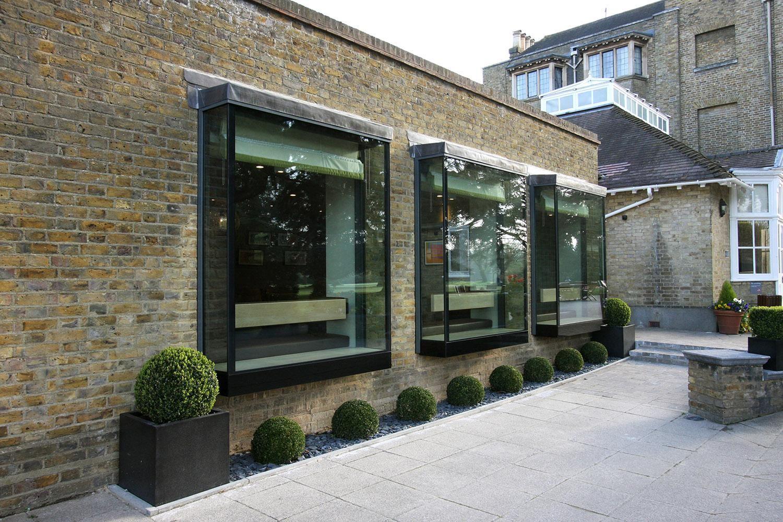 Contemporary Glazing Oriel windows Bow window, House