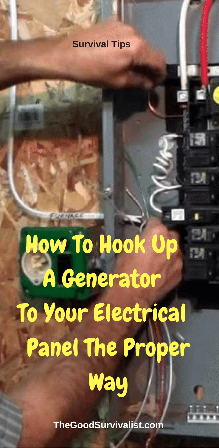 How To Hook Up A Generator Your Electrical Panel The Proper Way Wiring House Tips