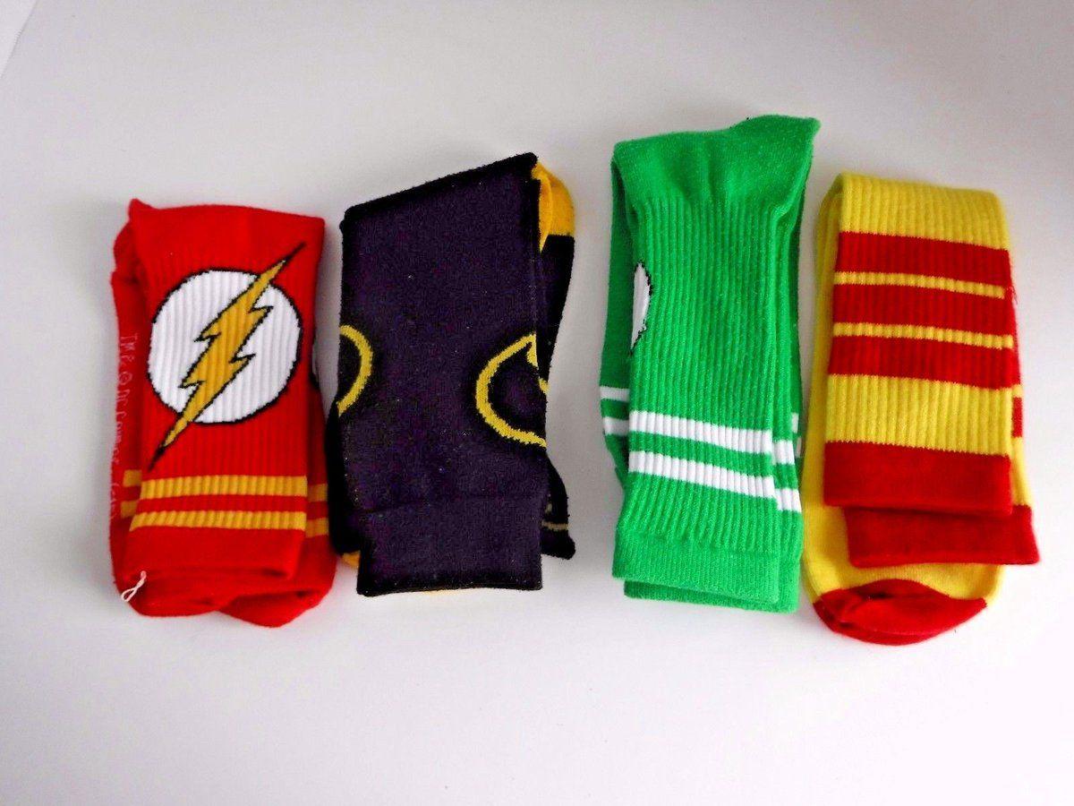#Popular - 4 LOT DC & Marvel Comics Superheroes Men's Crew Dress Socks Size 6-12 Batman  http://dlvr.it/PGK7nS - http://Ebaypic.twitter.com/x3ygZdg2EO