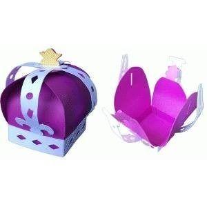 20 Cajas Corona De Principe Princesa. Xv Años Mesa De Dulces ...