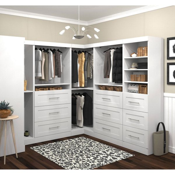 Pur By Bestar Optimum Kit   Overstock™ Shopping   Great Deals On Bestar  Closet Storage