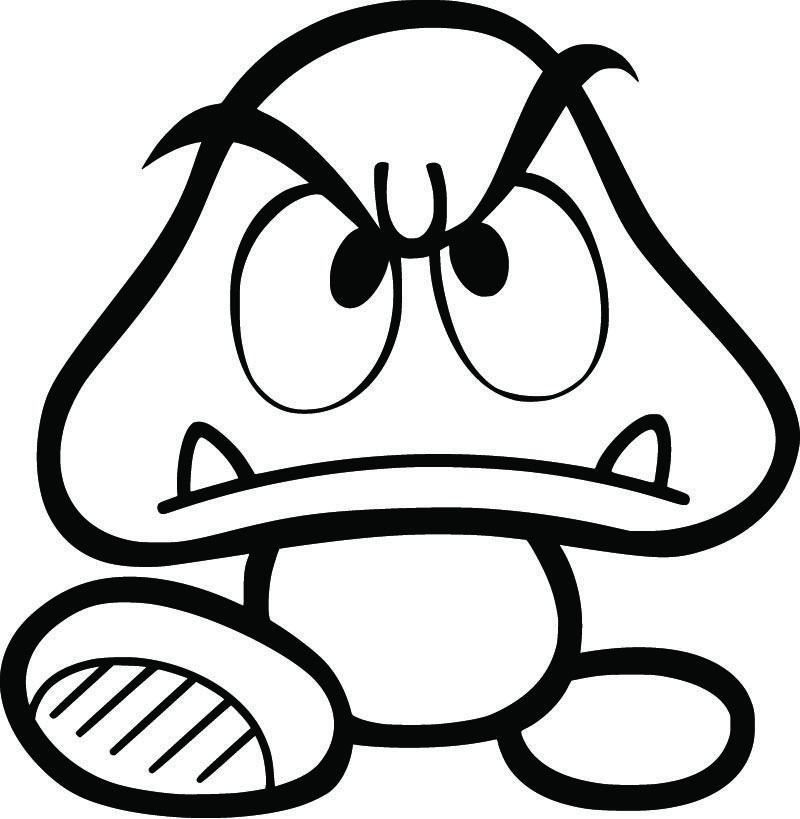 Super Mario Bros. Goomba 5\