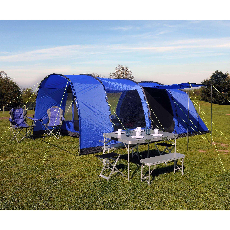 Eurohike Hampton 6 Man Family Tent Family Tent Tent Family