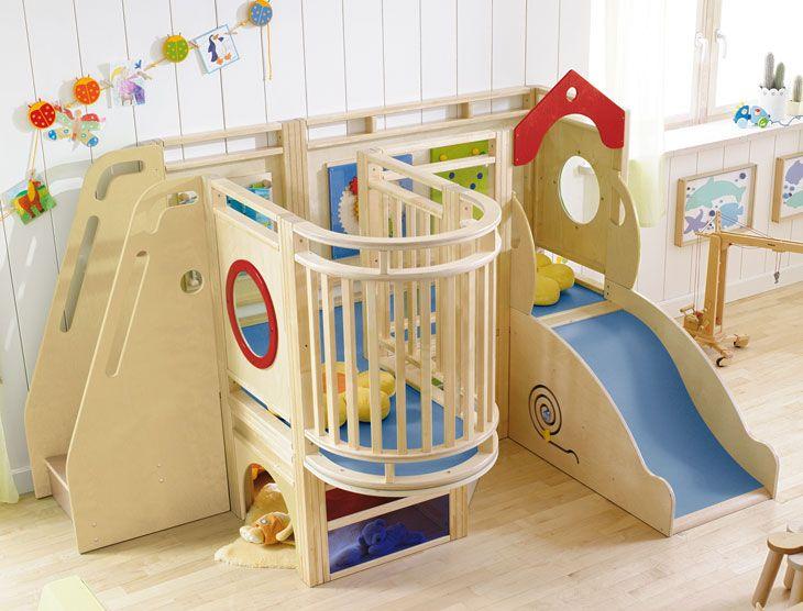 gemino haba structure de motricit et de jeu creche garderie pinterest salle de jeux. Black Bedroom Furniture Sets. Home Design Ideas