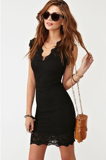 Lara Lace Dress - Black More like this @ http://www.pinterest.com/madidesiree/