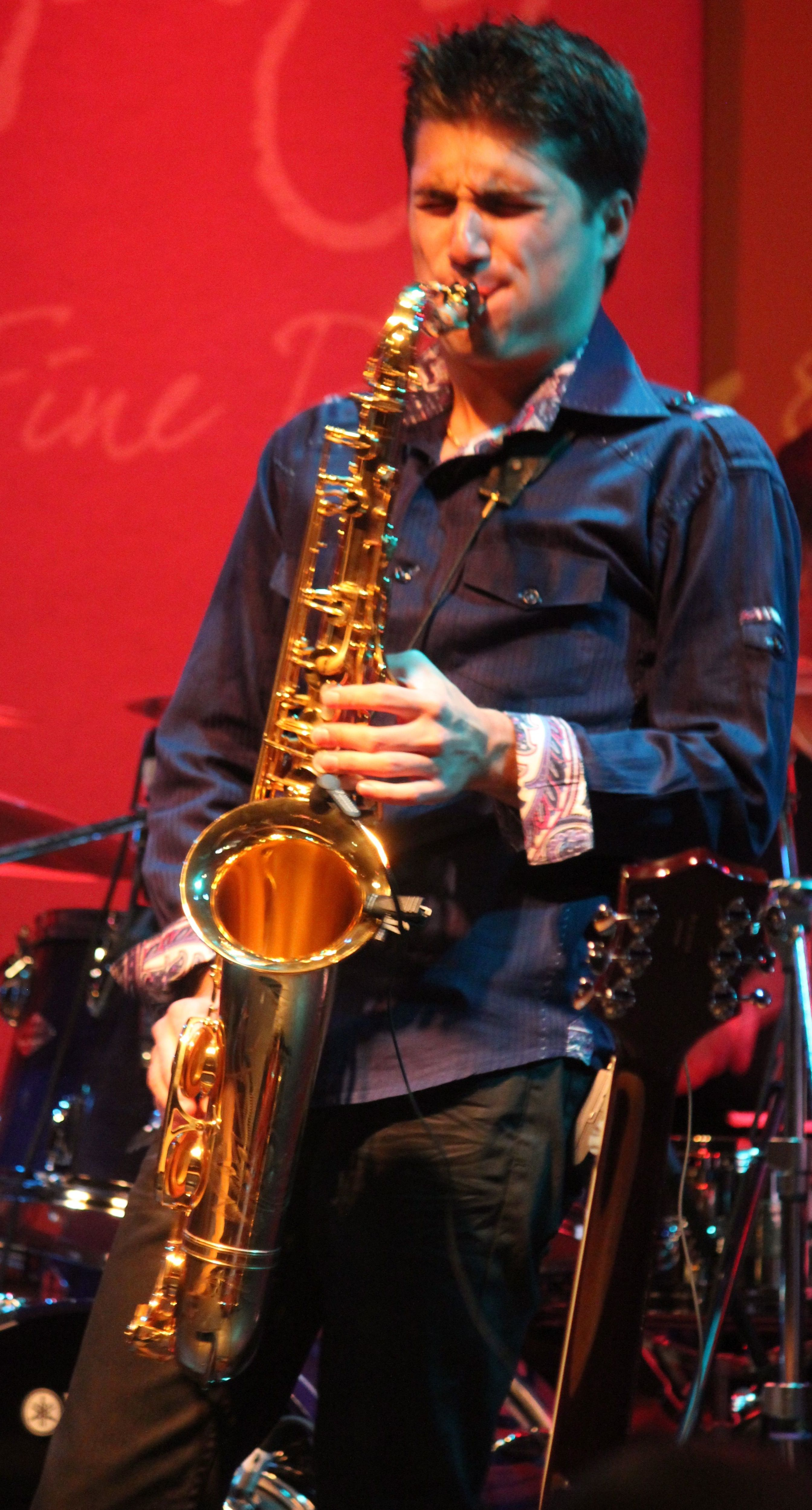 Sax Man Vincent Ingala Burns Up the Jazz Charts Jazz