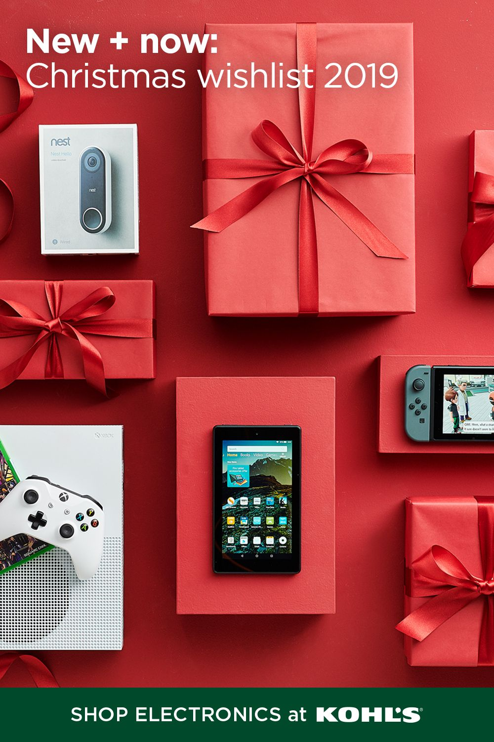 Check Off Their Christmas Wishlist With Gifts From Kohl S Surprise Them With The Gaming System They Ve Been Christmas Wishlist Christmas On A Budget Christmas
