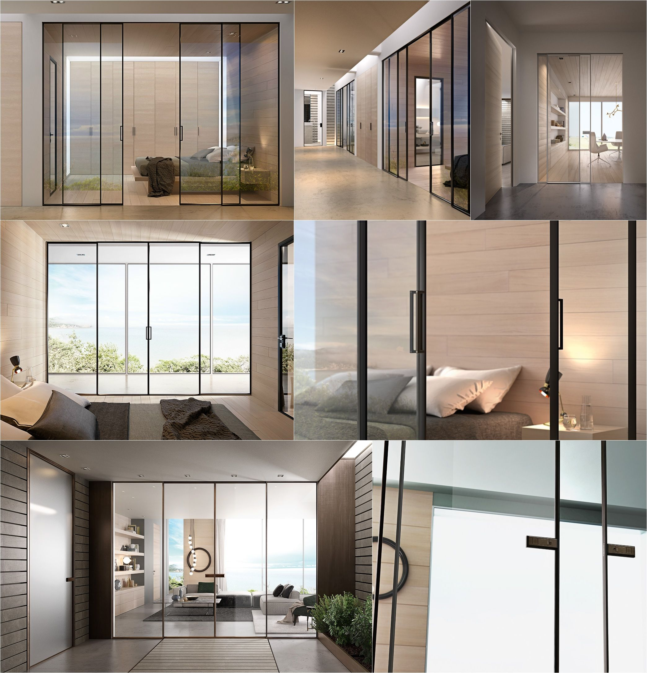 g-like collection glass sliding doors by gidea | garofoli | doors, Hause deko