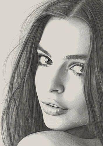 صور بنات مرسومة بالقلم الرصاص رمزيات فنية اخبار العراق Pencil Drawing Images Pencil Portrait Face Drawing