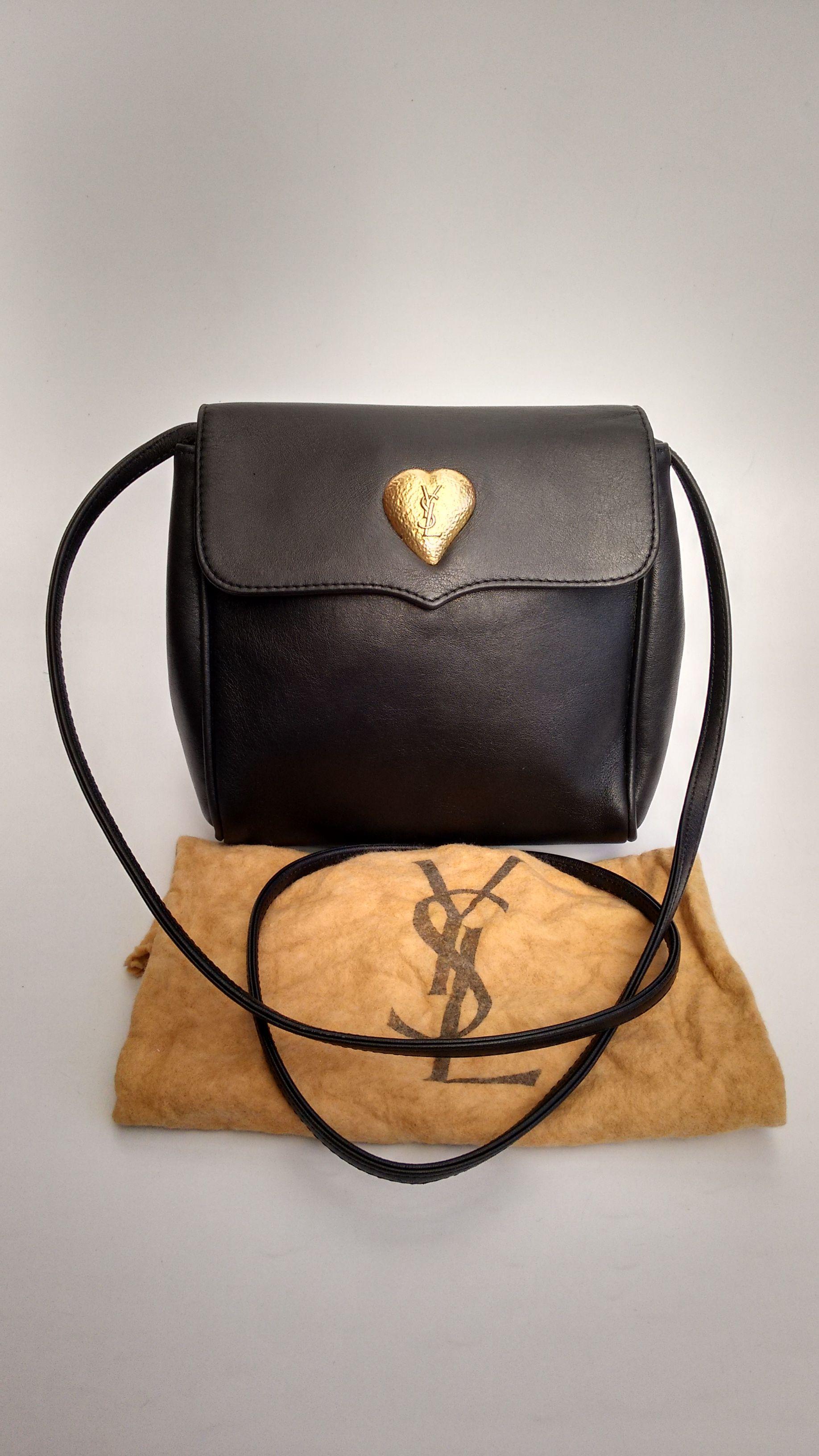 Ysl Bag Yves Saint Laurent Vintage Black Leather Shoulder Bag Ysl Bag Yves Saint Laurent Vintage Tote Bag Design