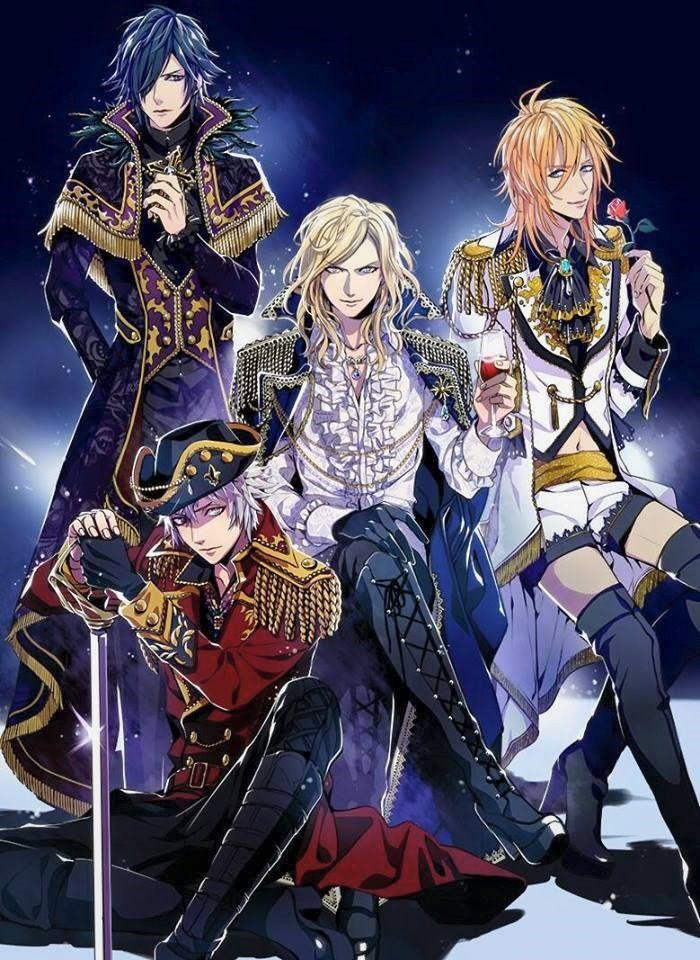 Tokiya Camus Ranmaru And Ren Anime Prince Uta No Prince Sama Utas