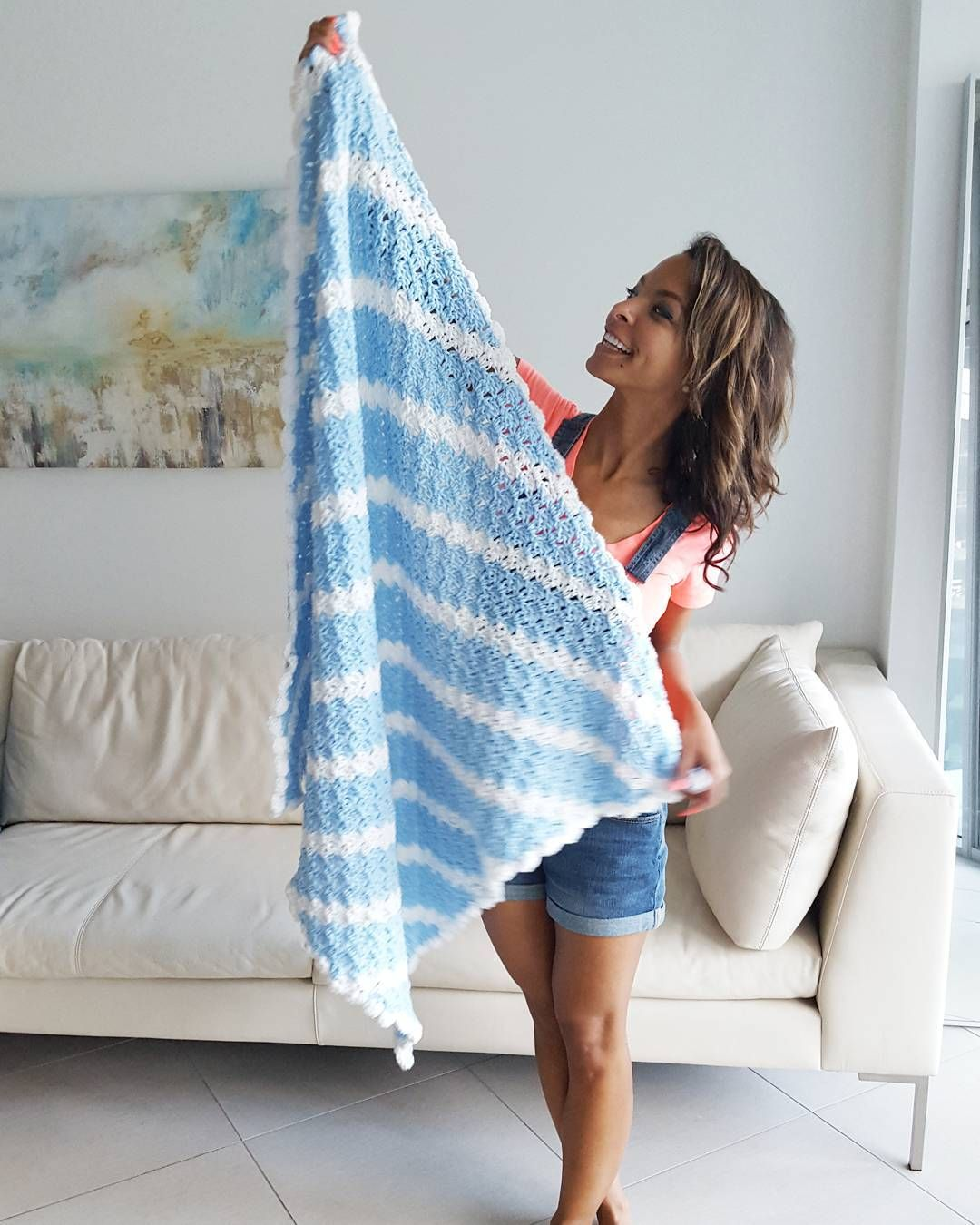 #CrochetBlanket  #happyhooker #yarnsohard #crochetaddict #crochettherapy by craftyconstance