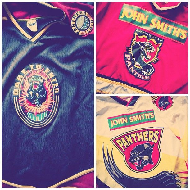 best service 2bb74 876ce Old Panthers Jerseys | Nottingham panthers | Nottingham ...