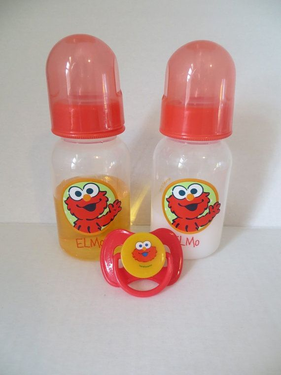Reborn Baby Doll 5oz Bottle Fake Milk Juice Ooak Sesame