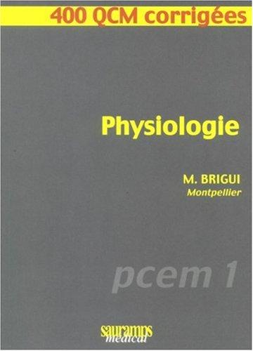 PCEM PHYSIOLOGIE TÉLÉCHARGER